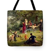 Sunday Tote Bag by Alexei Korsuchin