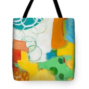 Sunday Day Bubbles Tote Bag