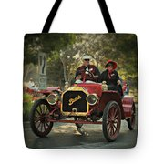 Sunday Drive In A 1910 Buick Tote Bag