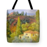 Sunday In Tuscany Tote Bag