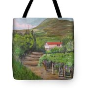 Sunday Morning At Ocone Vini Montesarchio Italy Tote Bag