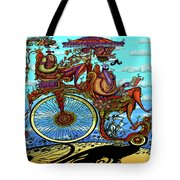 Sunday Ride Tote Bag