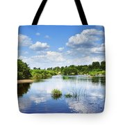 Sunday River  Tote Bag