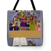Sunday Sermon Tote Bag