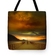 Sunday Storm Clouds Tote Bag