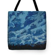 Sunday Sunrise Cumulus Floccus Tote Bag