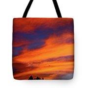Sunday Sunrise Tote Bag