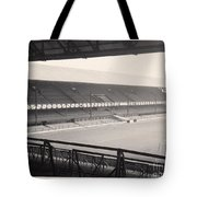 Sunderland - Roker Park - Main Stand 1 - Bw - Leitch - 1960s Tote Bag
