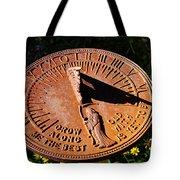 Sundial Tote Bag