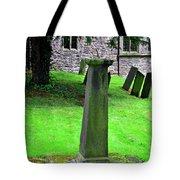 Sundial In St Leonard's Churchyard - Thorpe Tote Bag