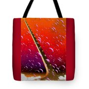 Sundial In The Sky With Bubbles Tote Bag