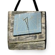 Sundial On St Mary's Church - Tutbury Tote Bag