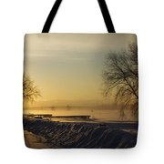Sundog On The Bay Tote Bag