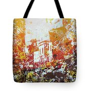Sundown Abstraction 2 Tote Bag
