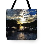 Sundown At Anne's Beach Tote Bag