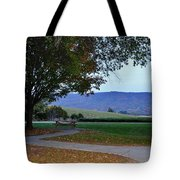 Sundown At Blue Ridge Tote Bag