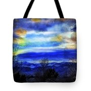 Sundown Overhead-2 Tote Bag