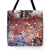 Sundrenched Rosehips Tote Bag