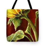 Sunflower - Sunny Side Up Tote Bag