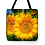 Sunflower 10 Tote Bag