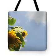 Sunflower 3 Tote Bag