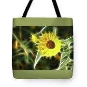 Sunflower-5030-fractal Tote Bag