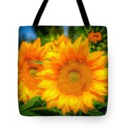 Sunflower 9 Tote Bag