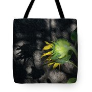 Sunflower And Shadow Tote Bag