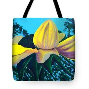 Sunflower And Spider Tote Bag