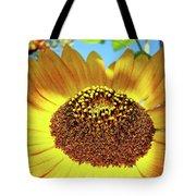 Sunflower Art Prints Orange Yellow Floral Garden Baslee Troutman Tote Bag