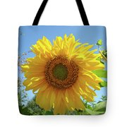 Sunflower Art Prints Sun Flower 2 Giclee Prints Baslee Troutman Tote Bag
