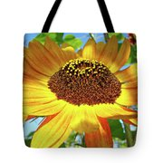 Sunflower Art Prints Sun Flowers Gilcee Prints Baslee Troutman Tote Bag