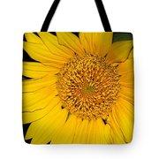 Sunflower At Dusk Tote Bag