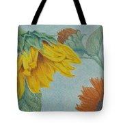 Sunflower Buddies Tote Bag