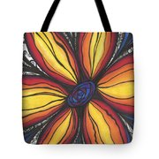 Sunflower Burst Tote Bag