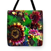 Sunflower Carnival Tote Bag