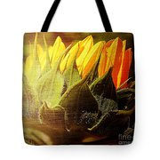 Sunflower Crown Tote Bag
