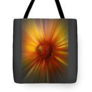 Sunflower Dawn Zoom Tote Bag
