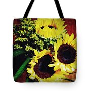 Sunflower Decor 3 Tote Bag