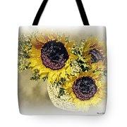 Sunflower Decor 9 Tote Bag