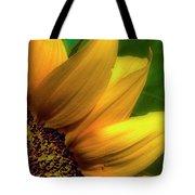 Sunflower Detail Tote Bag