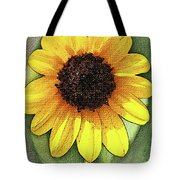 Sunflower Expressed Tote Bag