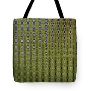 Sunflower Field Abstract Tote Bag