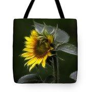 Sunflower Fractalius Beauty Tote Bag
