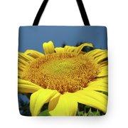 Sunflower Garden Art Print Yellow Summer Sun Flower Baslee Tote Bag