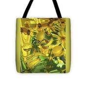 Sunflower Orb Glow Tote Bag