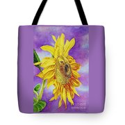 Sunflower Gold Tote Bag