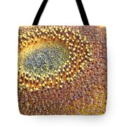 Sunflower Heart Tote Bag