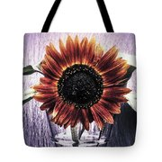 Sunflower In A Cup Tote Bag