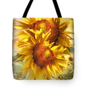 Sunflower Light Tote Bag